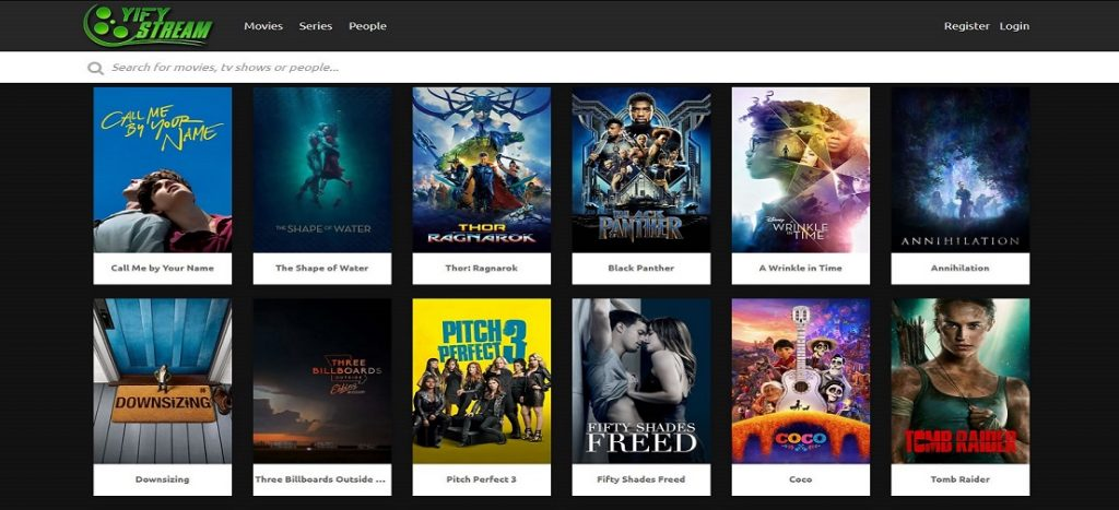 YIFY (YTS) Torrents Proxy sites and Alternatives
