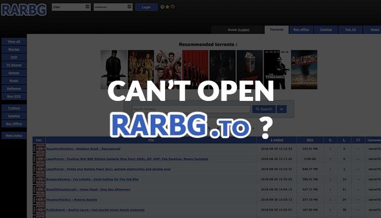 RARBG Proxy Sites & Alternatives