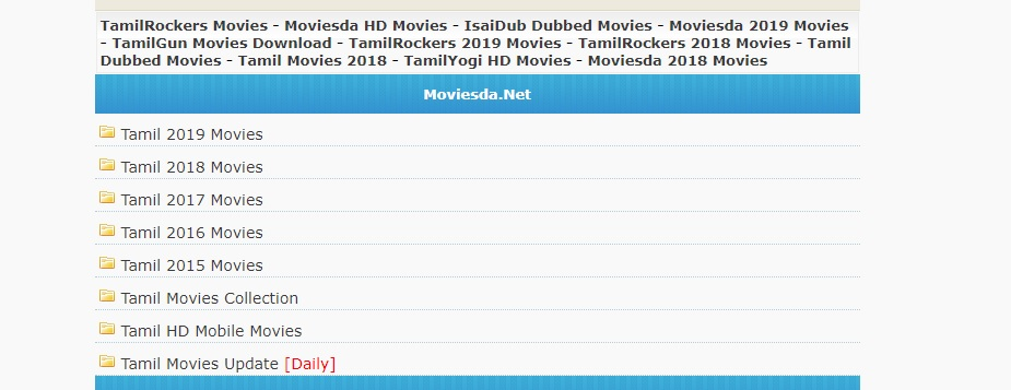 Moviesda Tamil Movies