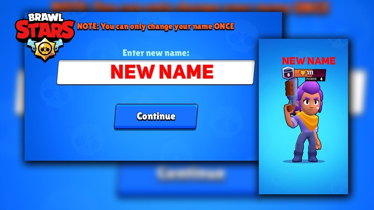 Change Name More Than Once in Brawl Stars