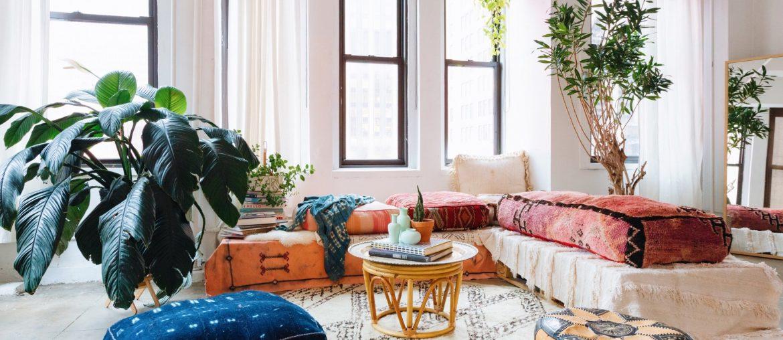 Interior design - moroccan bohemian